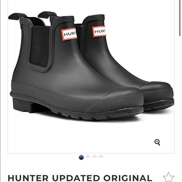 Hunter Shoes   Iso Ankle Hunter Boots